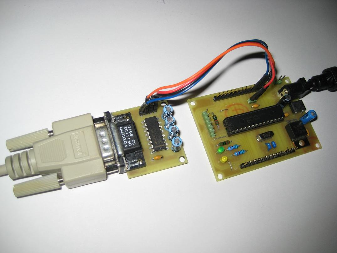 picprojects net | RS232 Communication with PIC Microcontroller
