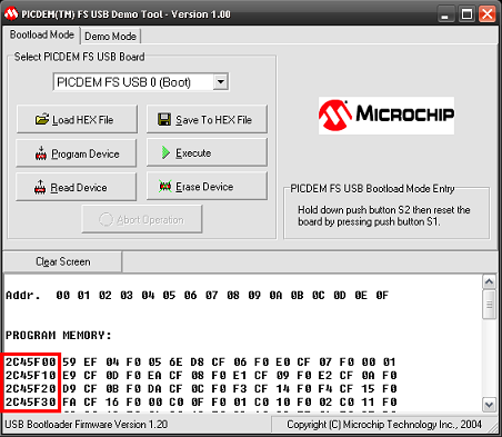 picprojects net | USB Bootloader
